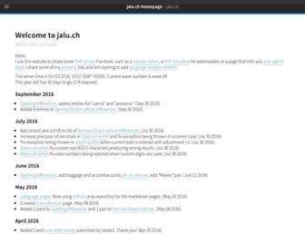 jalu.ch screenshot
