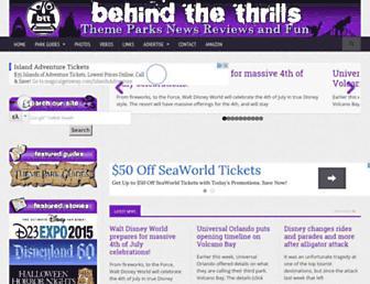 Thumbshot of Behindthethrills.com