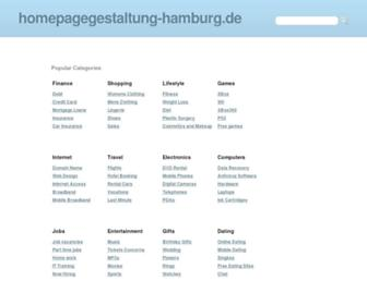 Thumbshot of Homepagegestaltung-hamburg.de