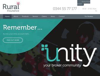 ruralinsurance.co.uk screenshot