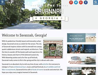 savannah.com screenshot