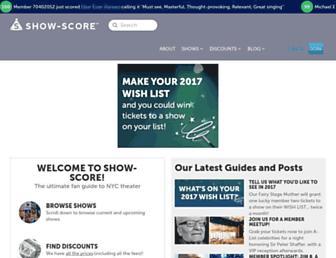 show-score.com screenshot