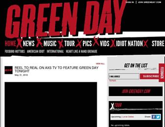 Thumbshot of Greenday.com