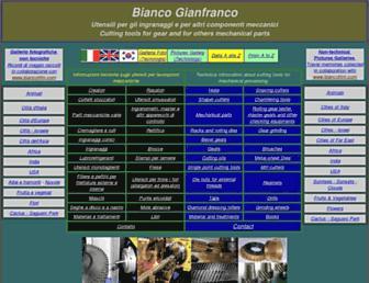 biancogianfranco.com screenshot