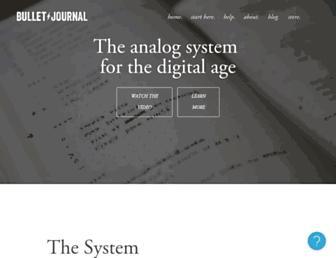 Thumbshot of Bulletjournal.com