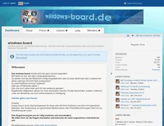 windows-board.de screenshot