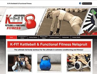 k-fit.co.za screenshot