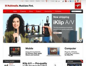 cgi.ikmultimedia.com screenshot