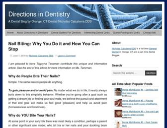 directionsindentistry.net screenshot