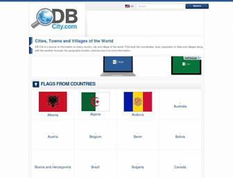 en.db-city.com screenshot