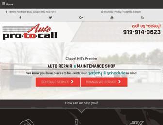 autoprotocall.com screenshot