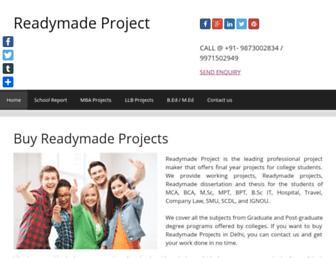 readymadeproject.in screenshot