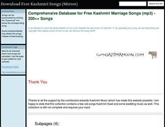 downloads.qazimamoon.com screenshot