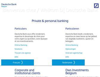 Thumbshot of Deutschebank.be