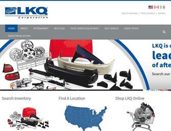 Thumbshot of Lkqcorp.com