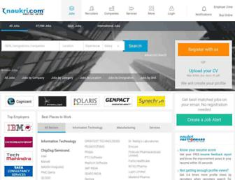 companies.naukri.com screenshot