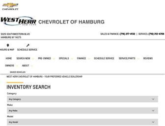 hamburgchevrolet.com screenshot
