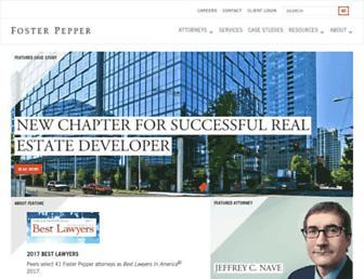 foster.com screenshot