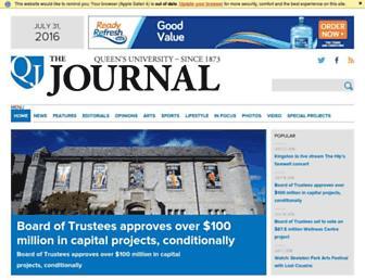 queensjournal.ca screenshot