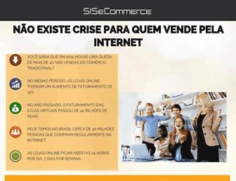 sisecommerce.com.br screenshot