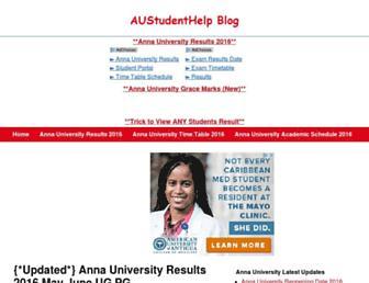 austudenthelp.blogspot.com screenshot