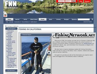 fishingnetwork.net screenshot
