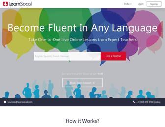 Thumbshot of Learnsocial.com