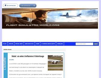 flight-simulator-world.org screenshot