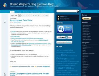remkoweijnen.nl screenshot