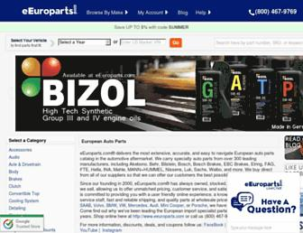 Thumbshot of Eeuroparts.com