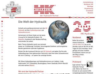 hk-hydraulik.com screenshot