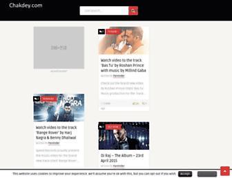 chakdey.com screenshot
