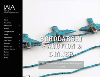 iaia.edu screenshot