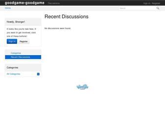 community.goodgamestudios.com screenshot