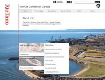 ironore.ca screenshot