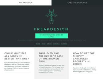 freakdesign.com.au screenshot