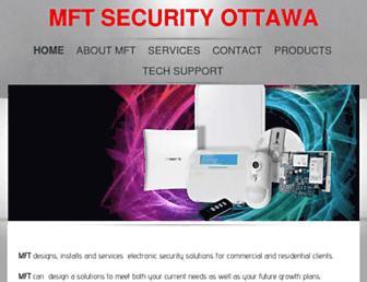 mftsecurity.ca screenshot