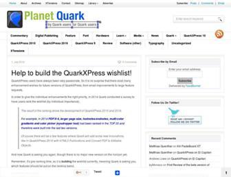 planetquark.com screenshot