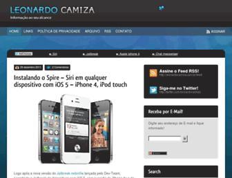 Thumbshot of Leonardocamiza.com.br