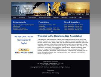 okgas.org screenshot