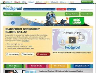 Thumbshot of Headsprout.com