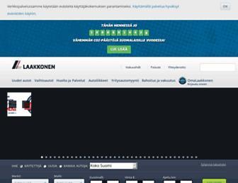 Thumbshot of Laakkonen.fi
