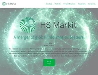 ihsmarkit.com screenshot