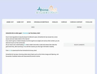 animeost.info screenshot