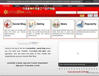 evolvestar.com screenshot