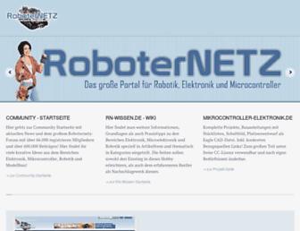 roboternetz.de screenshot