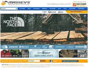 Thumbshot of Masseysoutfitters.com