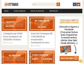 Thumbshot of Empreendedordozero.com.br