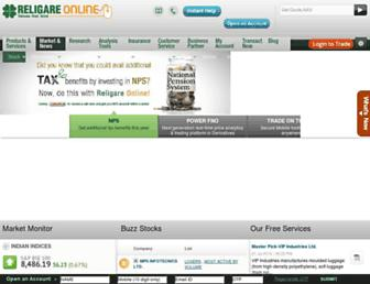 religareonline.com screenshot