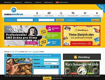 smsbrana.cz screenshot